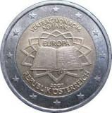 AUSTRIA 2 euro comemorativa 2007-Tratat Roma, UNC