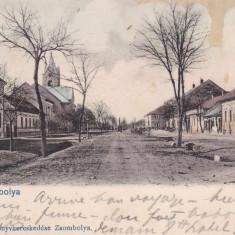 JIMBOLIA, CLASICA CIRCULATA 1903, EDITURA PERSTEIN F. JIMBOLIA - Carte Postala Banat pana la 1904, Printata