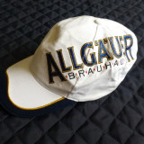 Basca Allgauer Brauhaus; 100% bumbac; marime universala, reglabila; ca noua