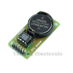 Arduino RTC DS1302 Real Time Clock Module For AVR ARM PIC SMD (FS00904)