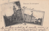 BANAT JIMBOLIA SALUTARI DIN JIMBOLIA CLASICA CIRCULATA 1902, Printata