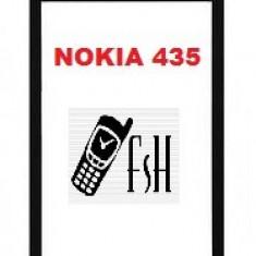 Touchscreen digitizer geam sticla Microsoft Nokia Lumia 435 - Touchscreen telefon mobil