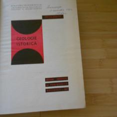 EMILIA SAULEA--GEOLOGIE ISTORICA - 1967 - Carte Geografie