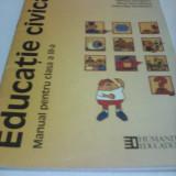 EDUCATIE CIVICA MANUAL CLASA III DAKMARA GEORGESCU, EDITURA HUMANITAS - Manual scolar, Clasa 3, Alte materii
