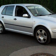 Set 4 Jante aliaj cromate VW Golf 4 cu cauciucuri 225/45/ 17 inch - Janta aliaj Volkswagen, Numar prezoane: 5