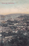 SIGHISOARA , SALUTARI DIN SIGHISOARA , CIRCULATA JUN.*907, Printata
