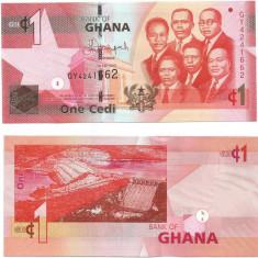 GHANA- 1 CEDIS 2015- NEW- UNC!! - bancnota africa