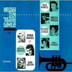 Melodii Din Toată Lumea IX (LP - Romania - VG) - Muzica Rock Altele, VINIL