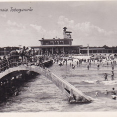 CONSTANTA, V. N. 13, MAMAIA, TOBOGANELE - Carte Postala Dobrogea dupa 1918, Necirculata, Fotografie