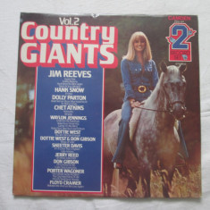 Various ‎– Country Giants Vol. 2 _ vinyl(2 x LP) UK - Muzica Country Altele, VINIL
