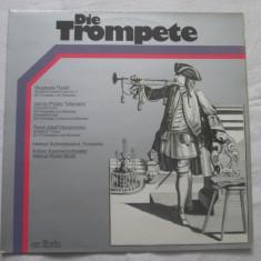 Torelli/Telemann/Vejvanovsky - Die Trompete _ Vinyl(LP) Elvetia - Muzica Clasica Altele, VINIL
