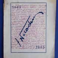 GRIGORE SPIRU - PATRIARHUL NICODIM LA ANIVERSAREA A 80 DE ANI (1865-1945) - 1946 - Carti Istoria bisericii