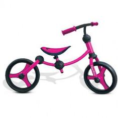 Bicicleta Fara Pedale Running Bike Roz - Bicicleta copii