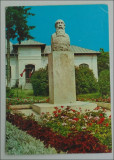 Valenii de Munte.Bustul lui Iorga, Circulata, Printata