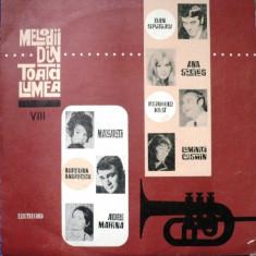 Melodii Din Toată Lumea VIII (LP) - Muzica Rock Altele, VINIL