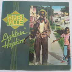 Lightnin' Hopkins ‎– Blues Ville _ vinyl(LP, album) Germania - Muzica Blues Altele, VINIL