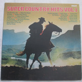 Various ‎– Super Country Hits Vol.1 _ vinyl(LP,compilatie) Germania