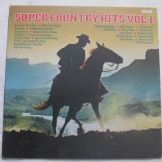 Various – Super Country Hits Vol.1 _ vinyl(LP, compilatie) Germania - Muzica Country rca records, VINIL