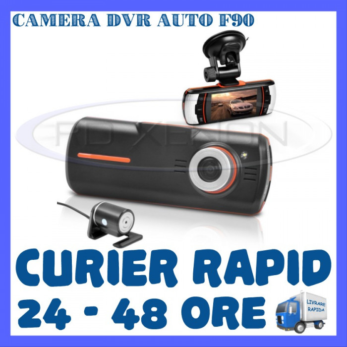 CAMERA VIDEO DVR AUTO MARTOR ACCIDENT F90 HD 1080P - SUPRAVEGHERE AUTO