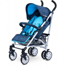 Carucior Sport Moby Blue - Carucior copii 2 in 1 Caretero