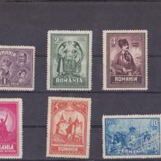 TRNS - 10 ANI DE LA UNIREA TRANSILVANIEI - AN 1929 - Timbre Romania, Nestampilat