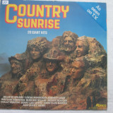 Various ‎– Country Sunrise (20 Giant Hits) _ vinyl(LP,compilatie) UK