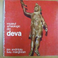 Muzeul arheologic din Deva Bucuresti 1972 67 ilustratii I. Andritoiu - Album Muzee