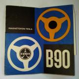 Manual utilizare Magnetofon Tesla B90