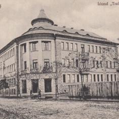 CARANSEBES, LICEUL''TRAIAN DODA'' - Carte Postala Banat dupa 1918, Necirculata, Printata
