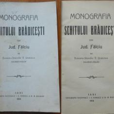 Stavrofor Ursacescu, Monografia Schitului Bradicesti, Jud. Falciu, Iasi, 1914 - Carte Editie princeps