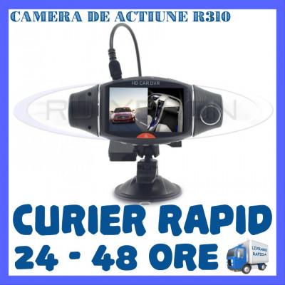 CAMERA VIDEO DVR AUTO MARTOR ACCIDENT DUAL R310 CU GPS - SUPRAVEGHERE AUTO foto
