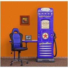 Dulap Petrol Station - Plastiko - Albastru - Set mobila copii