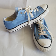 Tenesi panza marca Converse All Star mar.40 - Tenisi barbati Converse, Culoare: Bleu, Textil