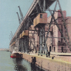 CONSTANTA, SILOZURILE - Carte Postala Dobrogea dupa 1918, Necirculata, Printata