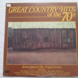 Various ‎– Great Country Hits Of The 70s _ vinyl(LP,compilatie) SUA