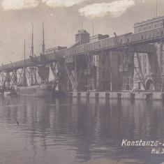 CONSTANTA, SILOZURILE - Carte Postala Dobrogea dupa 1918, Circulata, Fotografie