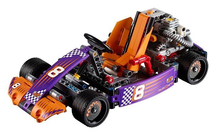 LEGO Technic Masina De Curse Kart - 42048 foto mare