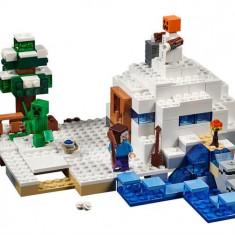 Ascunzisul Din Zapada - LEGO Minecraft