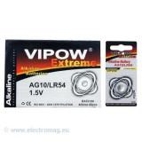 BATERIE VIPOW EXTREME AG10 1 BUC/BLISTER - Baterie ceas