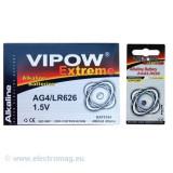 BATERIE VIPOW EXTREME AG4 1 BUC/BLISTER - Baterie ceas
