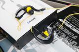 Casti Wireless / Bluetooth / Microfon - Syllable 700 - Negru + Galben