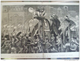 Grafica The Graphic print Wales elefant dans Naga Mahabharata Jeypore India