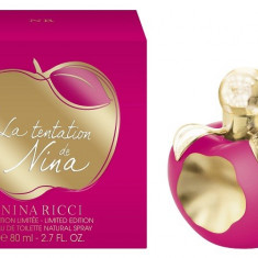 PARFUM NINA RICCI TEMPTATION DE NINA 80 ML --SUPER PRET, SUPER CALITATE! - Parfum femeie Nina Ricci, Apa de toaleta