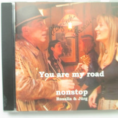 Rosalia&Jurg - You Are My Road _ cd, album _ Elvetia (cu autograf) - Muzica Country Altele
