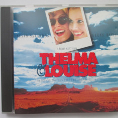 Various ‎– Thelma & Louise :soundtrack _ cd _ Germania - Muzica soundtrack Altele