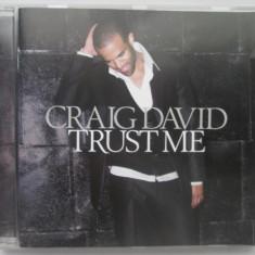 Craig David – Trust Me _ cd ,album _ UK, warner