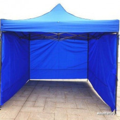 Pavilion cort 3x3 nou pliabil , structura rezistenta  , prelata cauciucata