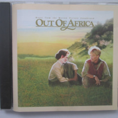 John Barry ‎– Out Of Africa : soundtrack _ cd _ EU - Muzica soundtrack Altele
