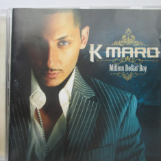 K maro ‎– Million Dollar Boy _ cd EU - Muzica Hip Hop Altele