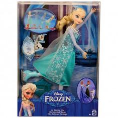Frozen - Păpuşa Elsa Patinatoare - OKAZIE - Papusa Disney